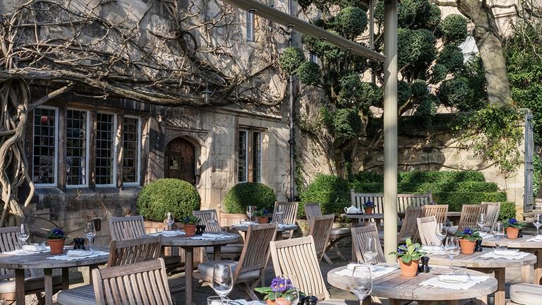 Terrace | © Courtesy of Old Parsonage Hotel
