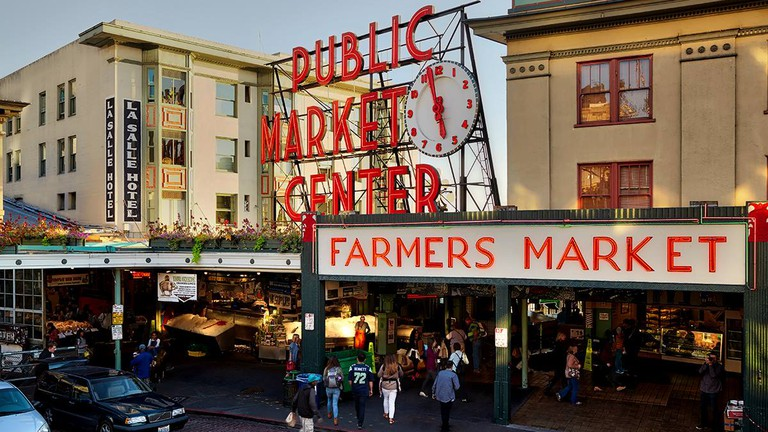Pike Place Market is one of the oldest markets in the U.S.