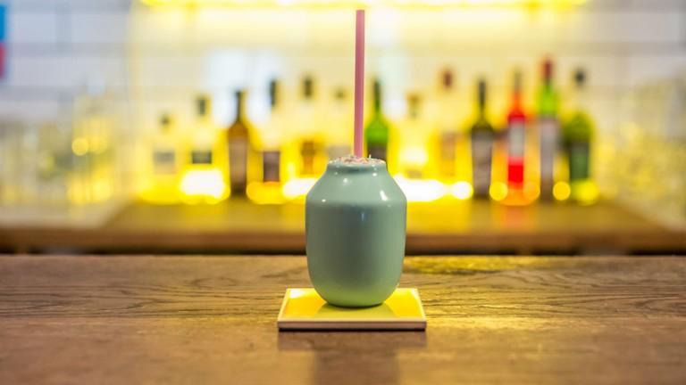 Powerpuff Cocktail | Courtesy Of Lucky Liquor Co