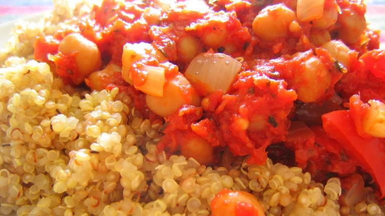 ratatouille and quinoa | ©rusvaplauke / Flickr