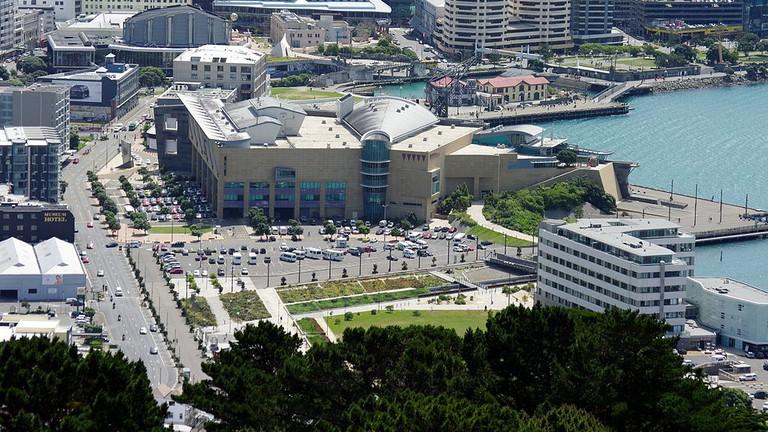 Downtown Wellington and Te Papa Museum
