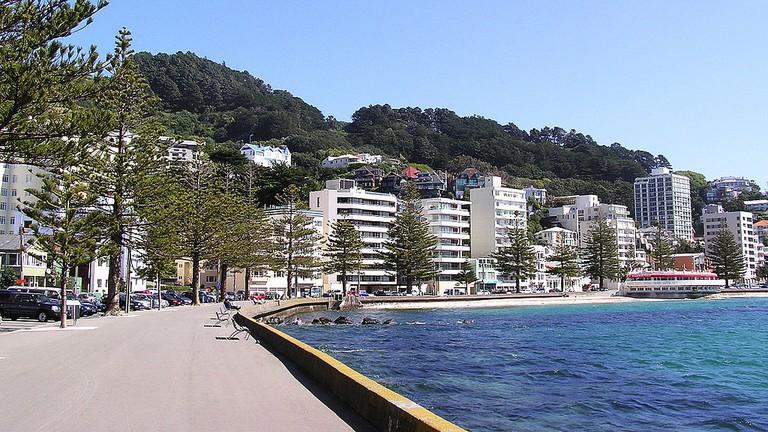 Oriental Parade, Wellington