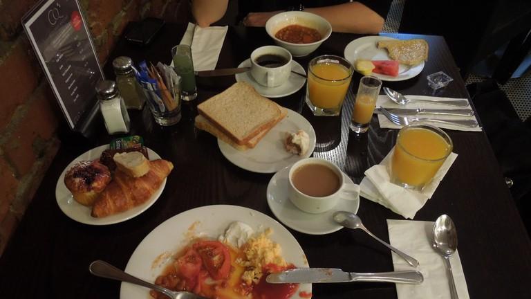 Breakfast at CQ Hotels Wellington