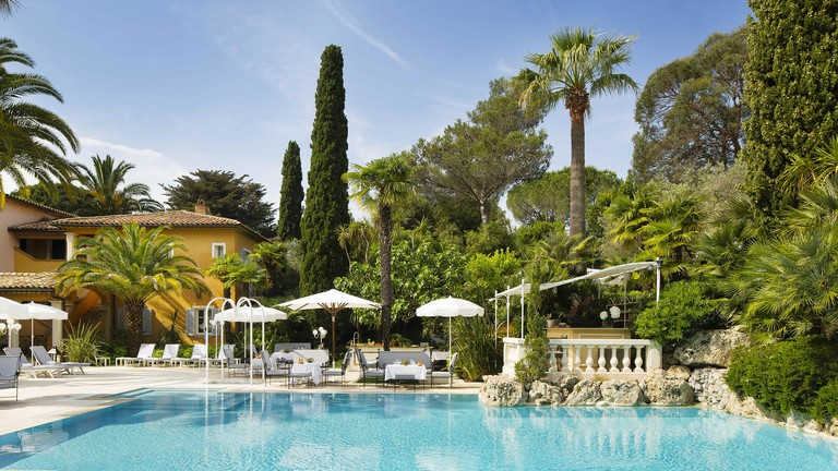 The Hotel Bastide in Saint Tropez