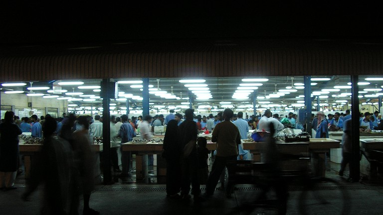 "<a href = ""https://www.flickr.com/photos/pfenwick/3655500379/""> Fish Market"