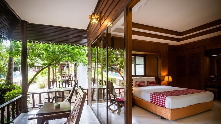 Guest room at The Sand Sea Resort