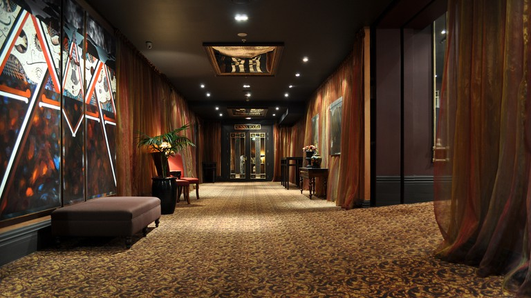 QT Museum Hotel Hallway