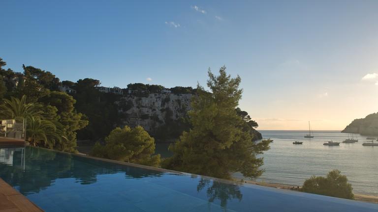 The Level pool at Melia Cala Galdana