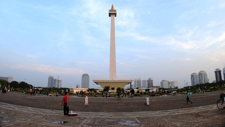 The national monument of Indonesia