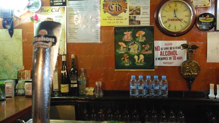 Bar El Cid, Logroño   ©Dan Convey
