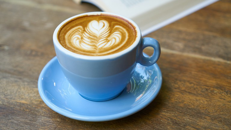 Coffee and books – a great way to spend the afternoon