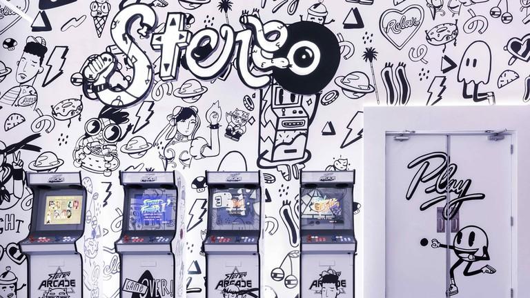 Stereo Arcade in Dubai | Courtesy of Stereo Arcade