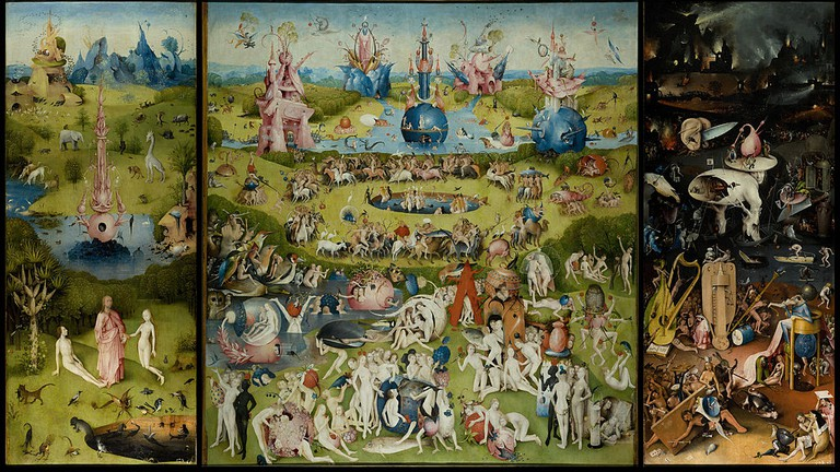 Hieronymous Bosch, 'The Garden of Earthly Delights' (1515)