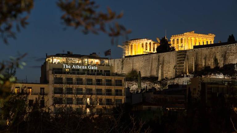 Courtesy of Athens Gate Hotel
