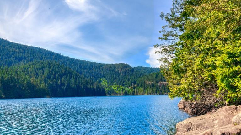 Buntzen Lake views