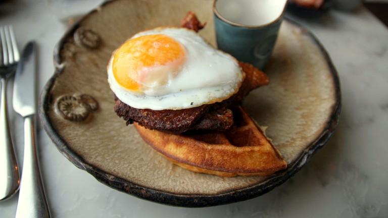 The eponymous duck & waffle