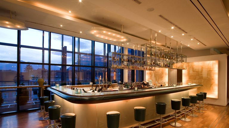 American bar on the 5th floor