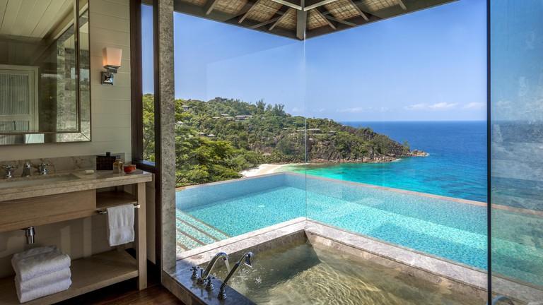 best honeymoon hotels in seychelles four seasons