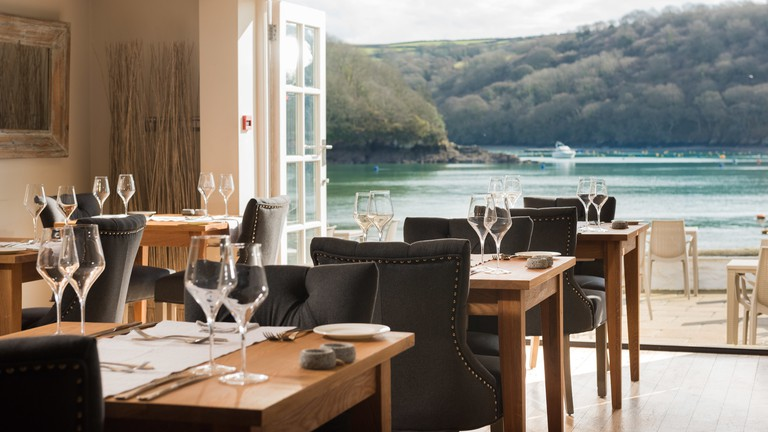 Dining room for The Old Quay House, Fowey