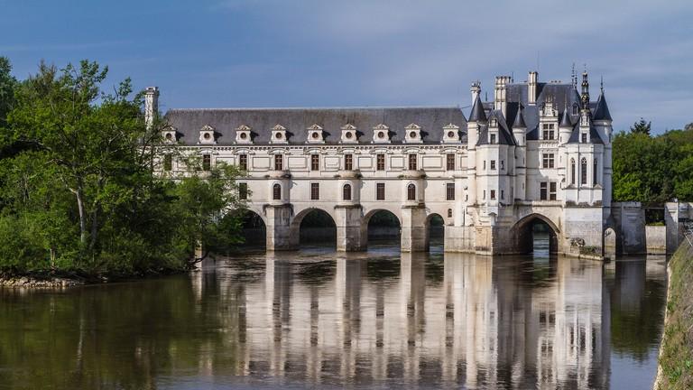 Château de Chenonceau gracing the River Cher