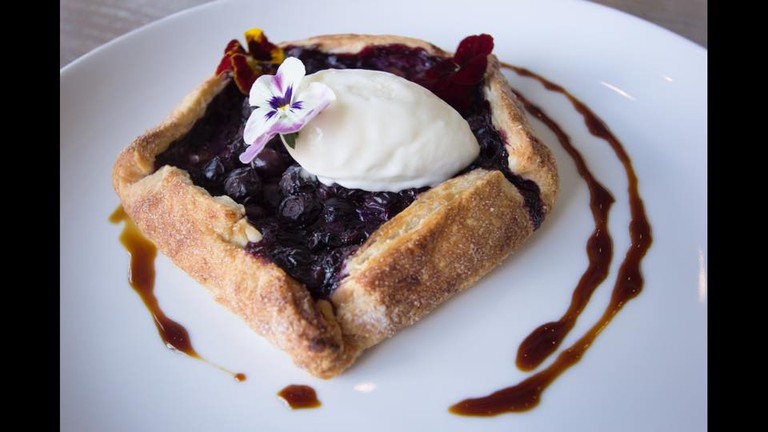 Blueberry pie/Courtesy of Brenner Pass
