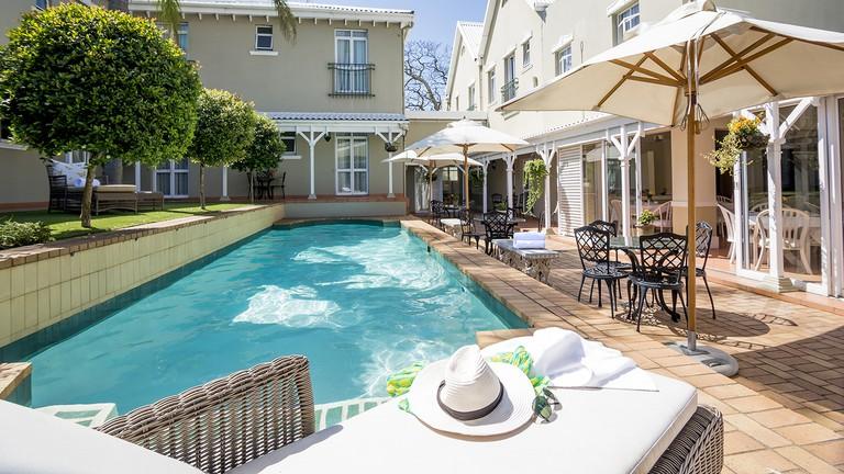 The pool at The Benjamin