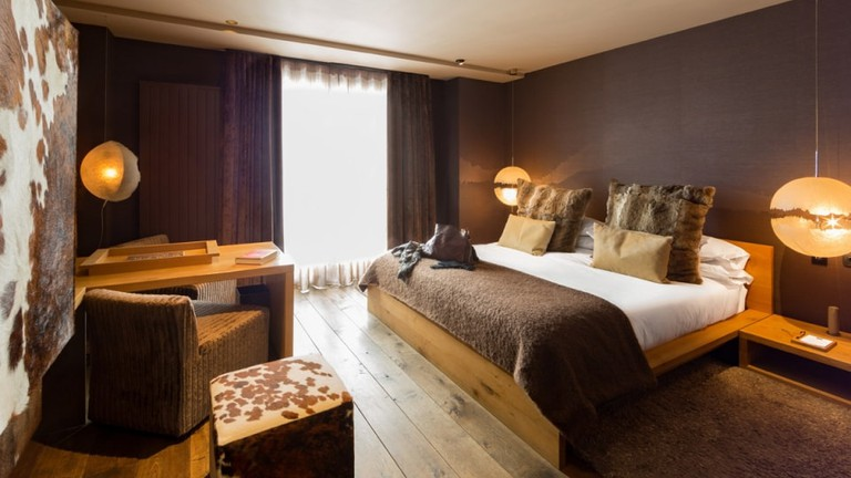 Room at the Grau Roig Boutique Hotel, Andorra