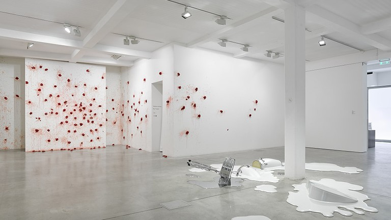 Installation view at Parasol Unit