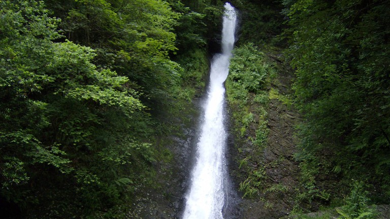 White Lady's Waterfall, Lydford Gorge