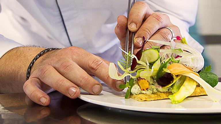La Mas Bottero Restaurant, Aix-en-Provence, France