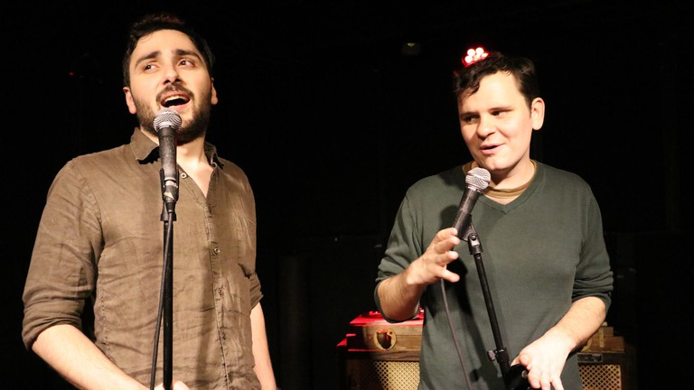 Phil Stamato (left) and Daniel Raderstrong (right)