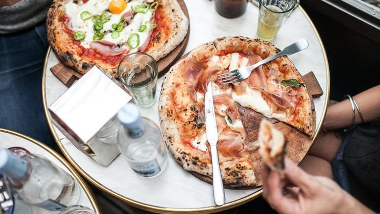 Pizza at Tripletta