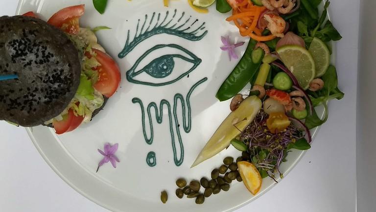 Pretty plates are guaranteed at Hashtag Food | courtesy of Hashtag Food
