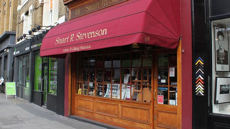 Stuart R. Stevenson shop exterior