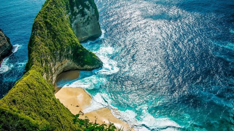 Kelingking Beach on Nusa Penida