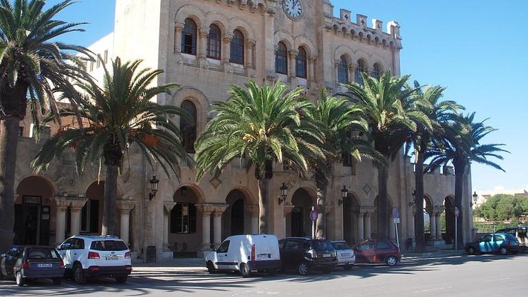 Town hall of Ciutadella