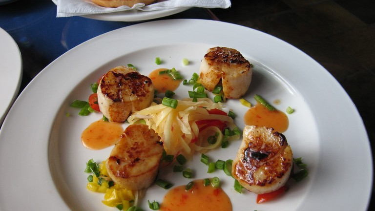 Grilled Scallops By: Miheco