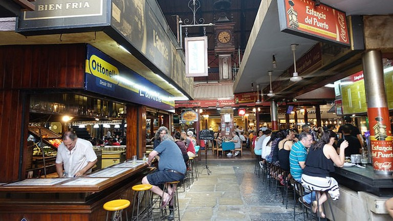 Mercado del Puerto restaurants, Montevideo, Uruguay