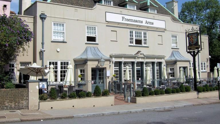 The Freemasons Arms, Hampstead