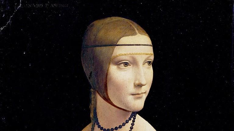 Leonardo da Vinci, The Lady with an Ermine (c. 1490) | Photo by Frank Zöllner/WikiCommons