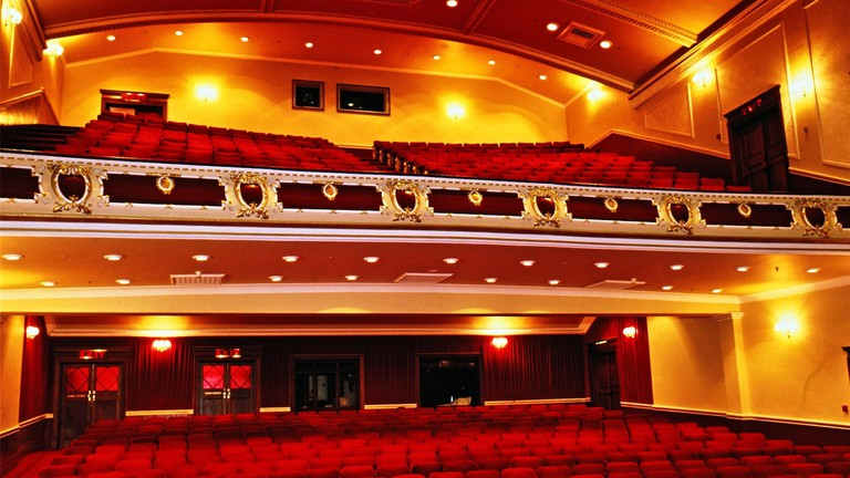 Interior of Port Elizabeth Opera House