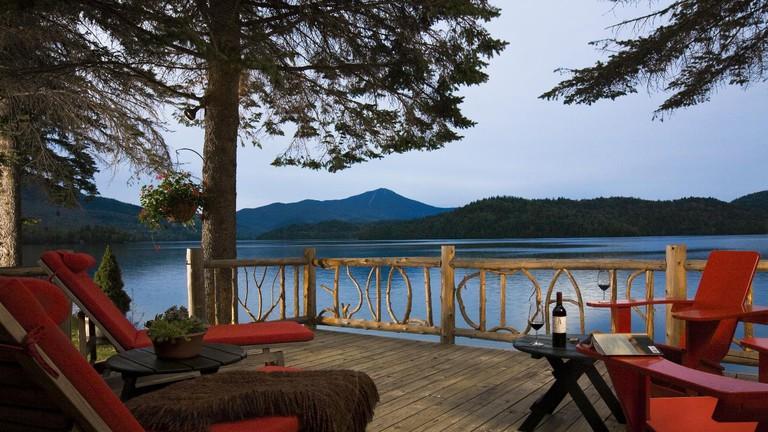 Lake views and luxury at Lake Placid Lodge