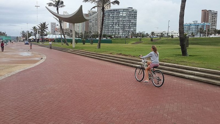 Bike & Bean is found on Durban's promenade