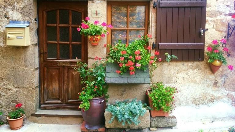 One of Montrésor's quaint houses