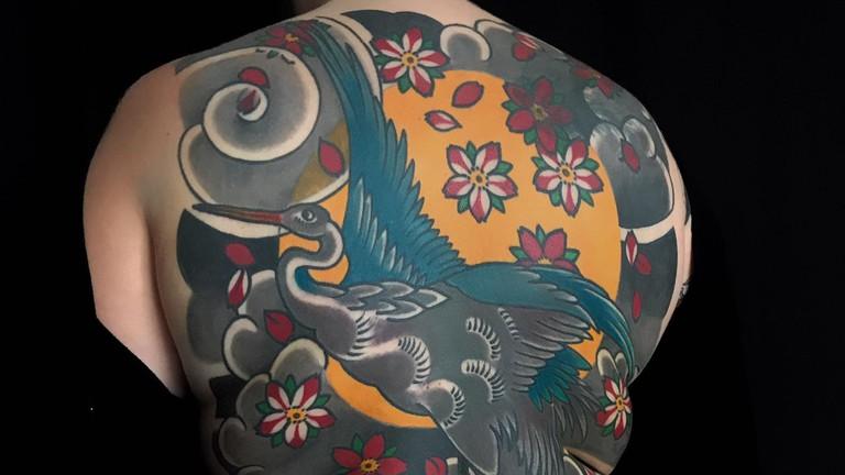 Incredible art from Twix at Fatline Tattoo Club