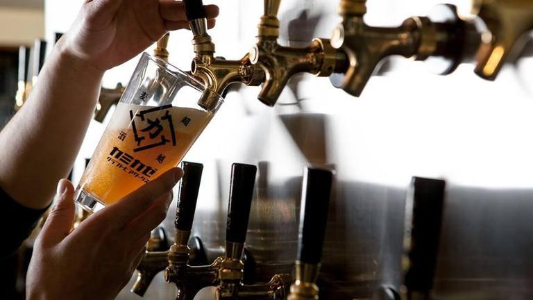kanikaze_beer_horie_osaka_japan