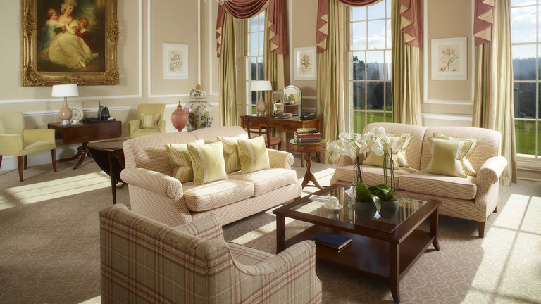The Sir Percy Blakeney Suite | Courtesy of The Royal Crescent Hotel and Spa