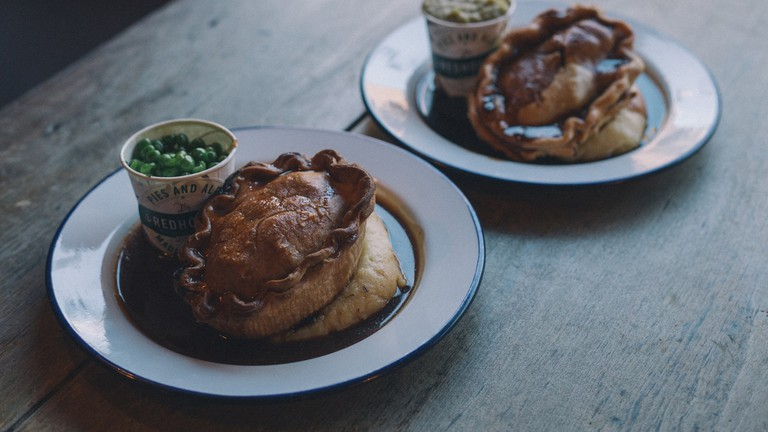 Pies at the Redhouse