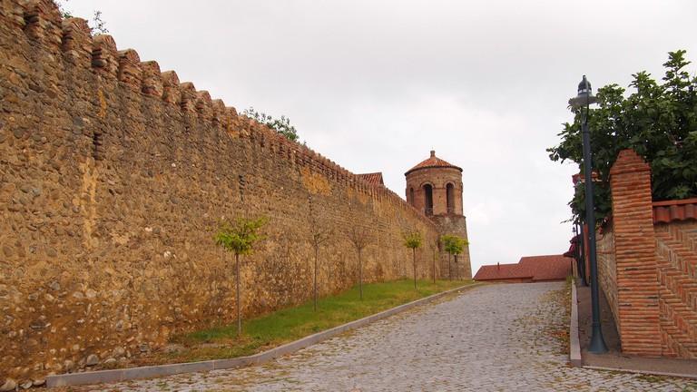 City walls in Telavi