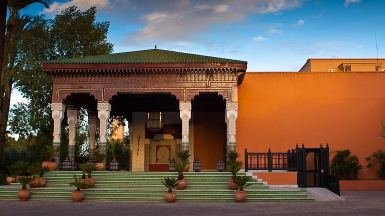 Outside La Mamounia, Marrakech